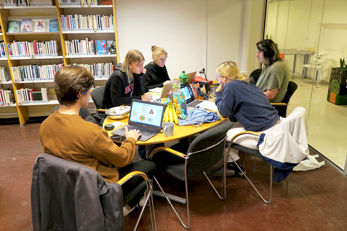 International green camp igang på Slotshaven Gymnasium